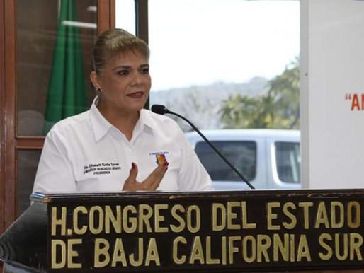 Diputada Elizabeth Rocha Torres Coordinadora de la Fracción del PAN con motivo de la conmemoración d