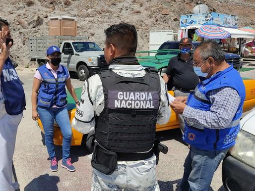 REPORTÓ BCS SALDO BLANCO DURANTE SEMANA MAYOR