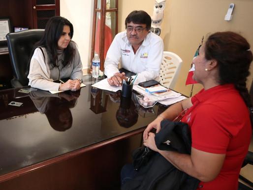 El Gobierno sí cumple; atiende Armida Castro peticiones de la ciudadanía creando vínculos