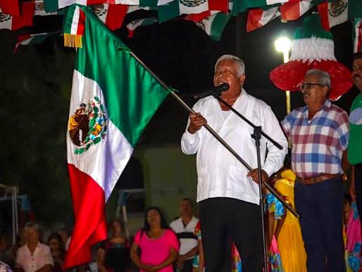 Conmemoran el CCIX Aniversario de la Independencia de México en comunidades del municipio