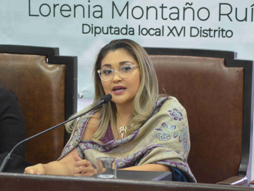 Ratifica Diputada Lorenia Montaño que Congreso se suma a #UnDiaSinNosotras