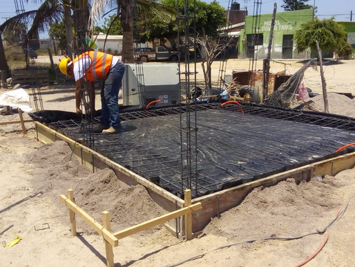 Inicia en Pto. San Carlos la construcción de cuartos dormitorio