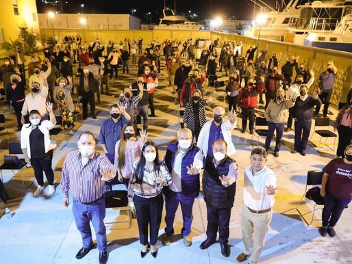 La Cuarta transformación sigue sumando voluntades: Víctor Castro