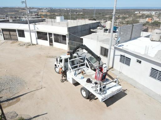 Más áreas iluminadas y seguras para Los Cabos