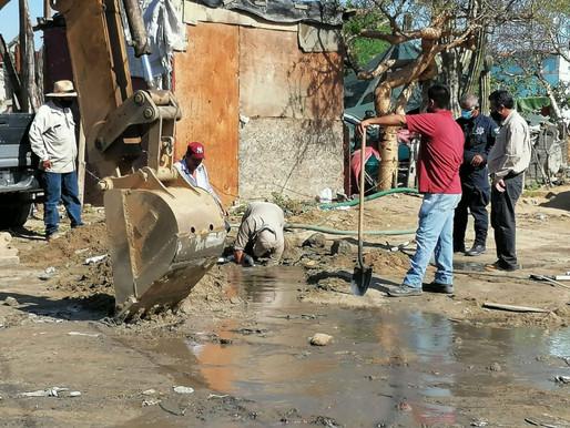 Tras sustitución de tuberías dañadas intencionalmente, Oomsapas Los Cabos exhorta a no actuar de man