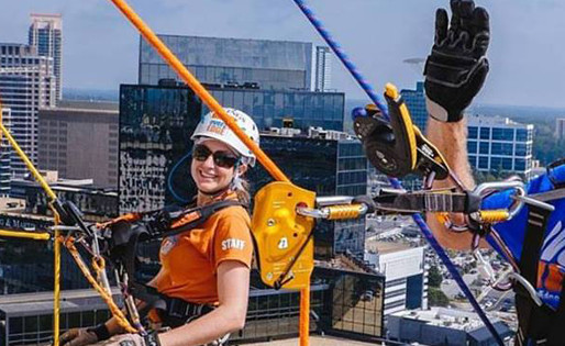 Heroes Read, Write, & Rappel Over the Edge for Dyslexia
