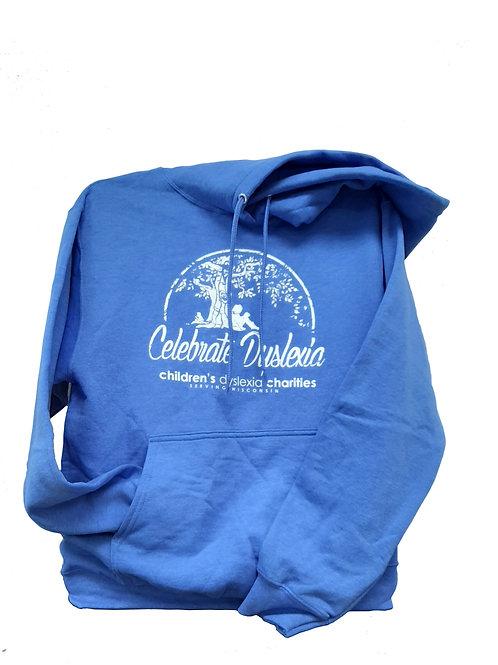 BLUE - Celebrate Dyslexia Hoodie