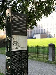 signalisation extérieure parcs jardins Bruxelles