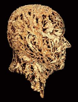 BXB-2---Prince-Albert-II-of-Monaco---Portrait-Sculpture-in-18K-Gold