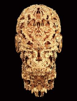 BXB-3---Prince-Albert-II-of-Monaco---Portrait-Sculpture-in-18K-Gold
