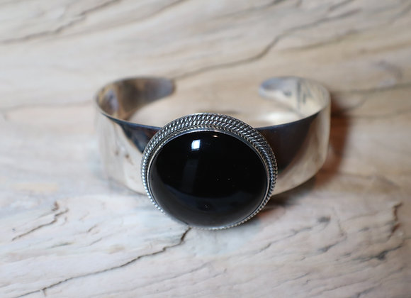 Artie Yellowhorse Black Onyx Cuff