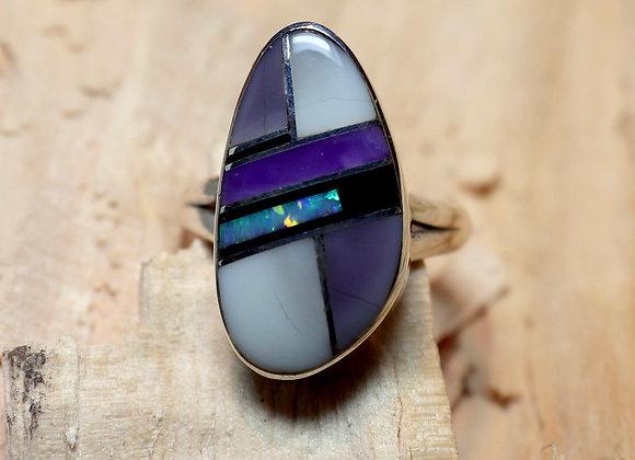 Navajo Inlay Ring