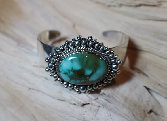 Artie Yellowhorse Royston Turquoise Cuff