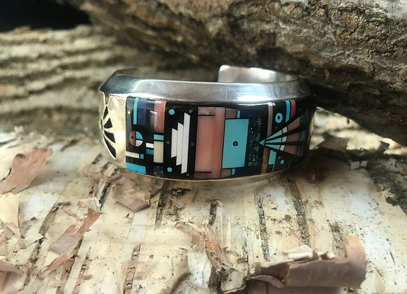 Stunning Inlay/Overlay Cuff – Great Value!