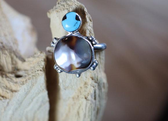 Adorable Zuni Turtle Ring