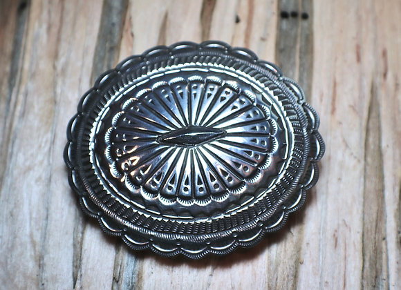Leonorah Mahony - Hand-stamped Concho Buckle