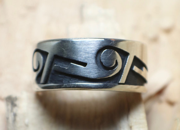 Hopi Overlay Band/Ring