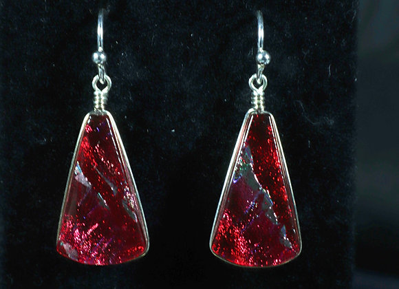Dichroic Glass Earrings