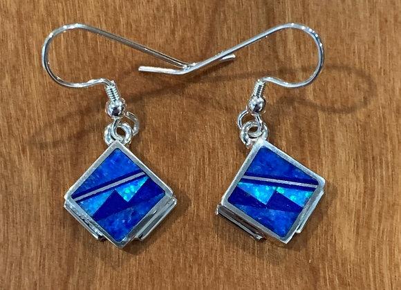 Supersmith – David Rosales Inlaid Dangle Earrings