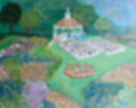 Garden Wedding Acrylic Painting