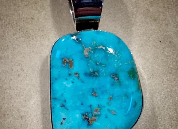 Gorgeous Turquoise Navajo Pendant