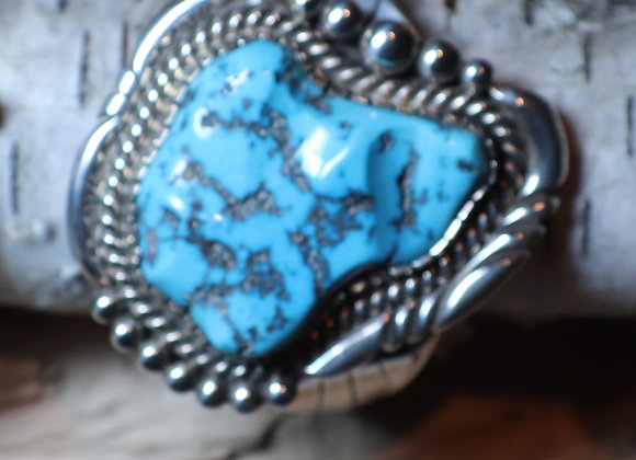 Modern, Navajo Sleeping Beauty Cuff (XL Stone)