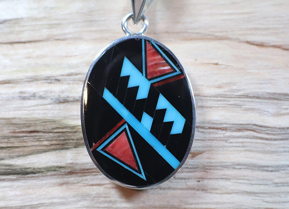 Two-Sided Inlay Pendant