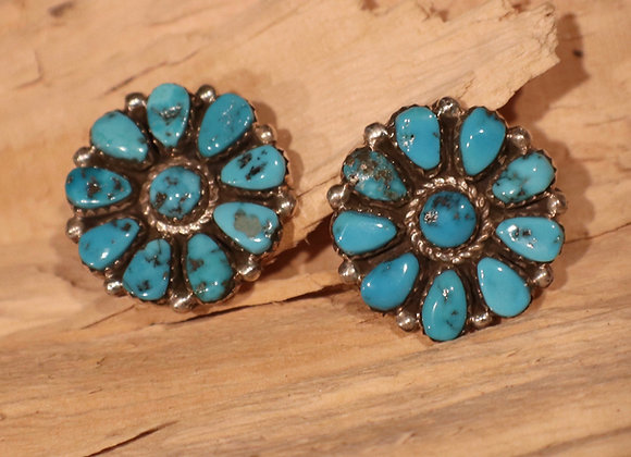 B. Touchine - Navajo Cluster Earrings
