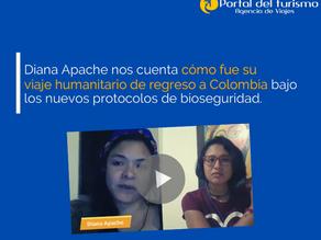 #VIDEO  Experiencia de viaje: vuelo humanitario a Colombia