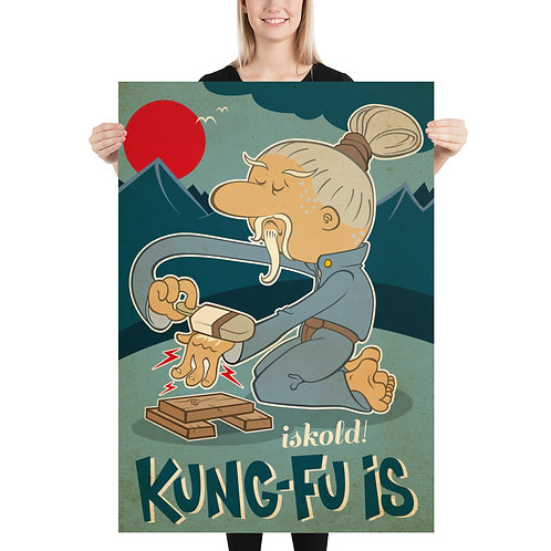 Kung-Fu is Poster