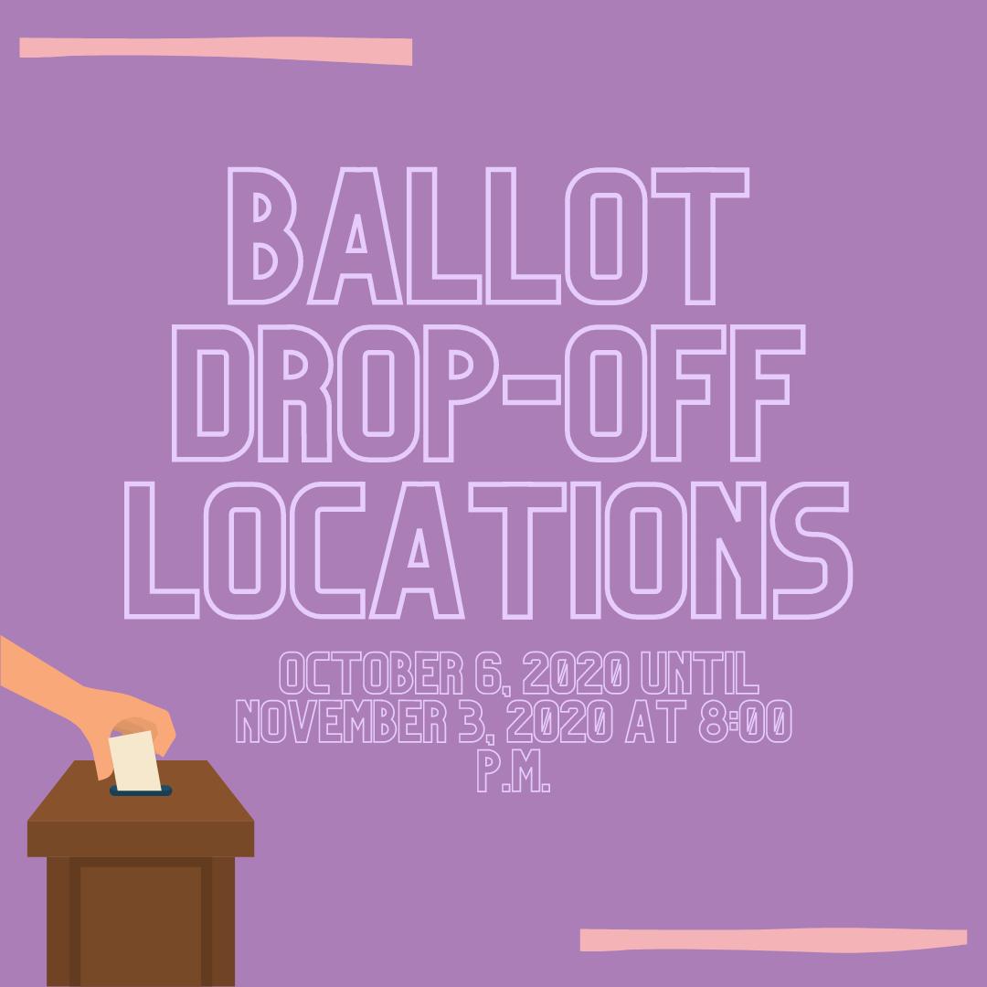 Ballot Drop-Off Locations