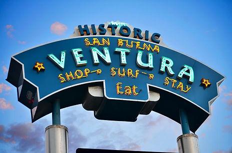 Ventura Pier Sign