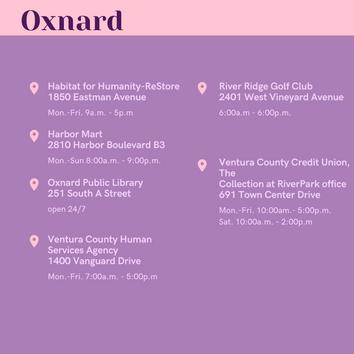 Ballot Drop-Off Locations in Oxnard