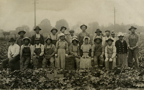 Migrant farm workers in the early 20th century