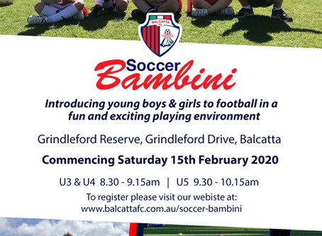 Soccer Bambini 2020