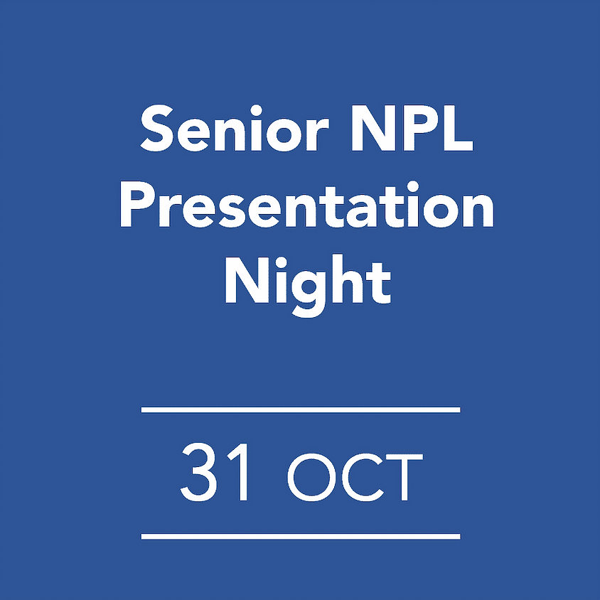 Senior NPL Presentation Night