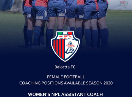 EOI - Women's Coaching Positions Available