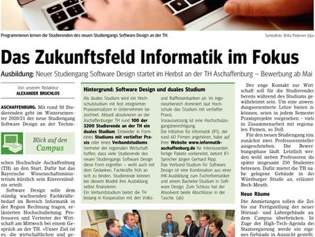 """Studiengang """"Software Design"""" startet an der TH Aschaffenburg"""