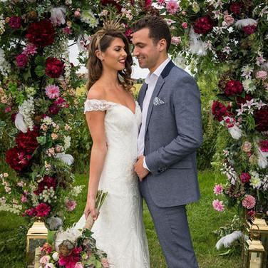 Photo Shoot - Wedding Archway