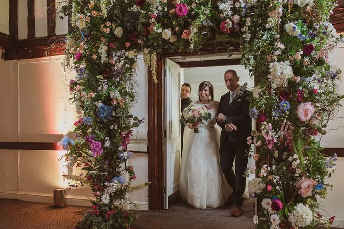 Burford Bridge, Wedding Flowers Surrey