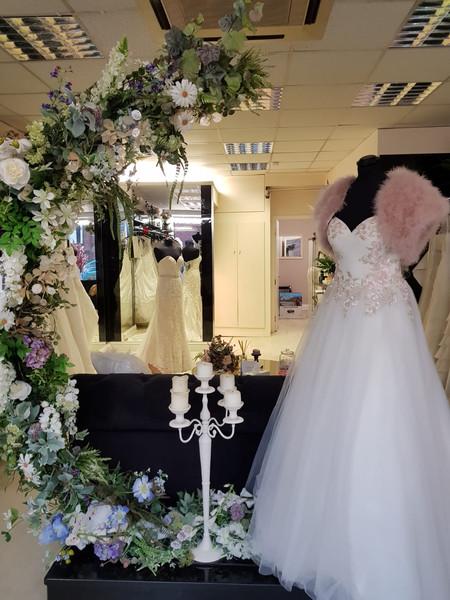 Wedding Floral Ceremonial Moongate Crescent