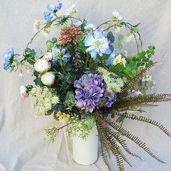 Love the faux Scabious that I bought thi
