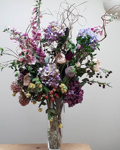A colourful arrangement they wanted,  so
