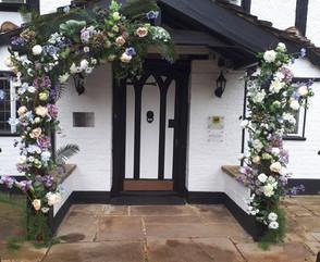 Glyn Manor Wedding Flowers