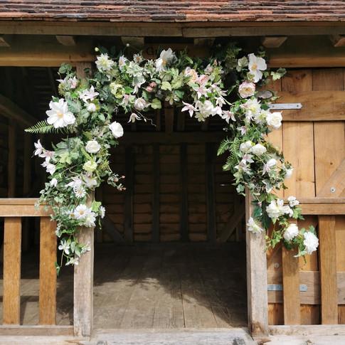 Floral Silk Garland