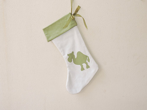 Christmas Camel Stocking