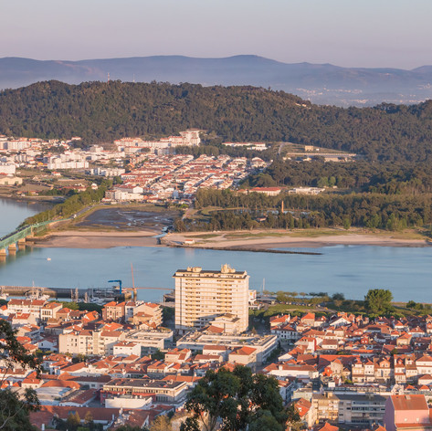 Canva - Aerial view of the  city Viana d