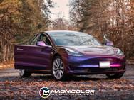 Tesla Model 3 - Color Change Wrap