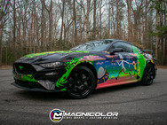 Ford Mustang GT - Custom Rick & Morty Wrap