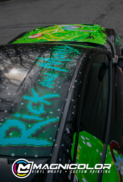 RICK AND MORTY THEMED FORD MUSTANG GT CU